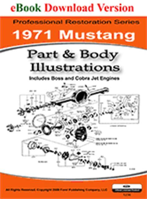 1971 mustang shop manual pdf