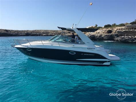 monterey boats rental monterey 295 cr from the charter base ciudadela in