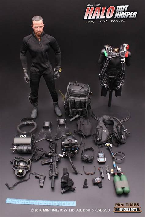 Regalia Battle Suit Go Leader Edition mini times toys us navy seal halo udt jumper jump suit version