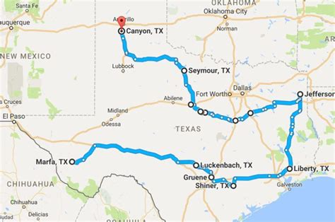 ultimate small town texas road trip