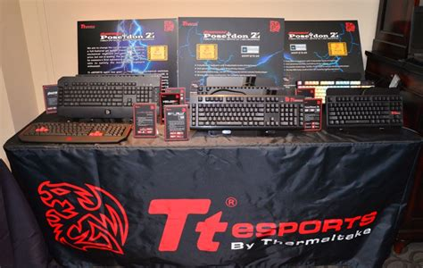 Gaming Mouse Ttesports Thermaltake Pyrrhus Large Team Dk Edition tt esports reveals new gaming products at ces 2014 legit reviews