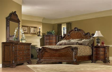 art old world bedroom furniture buy old world estate bedroom set by art from www