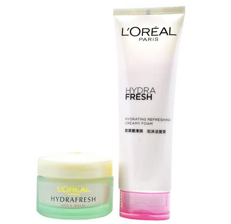 L Oreal Hydrafresh buy l oreal hydrafresh aqua creme foam