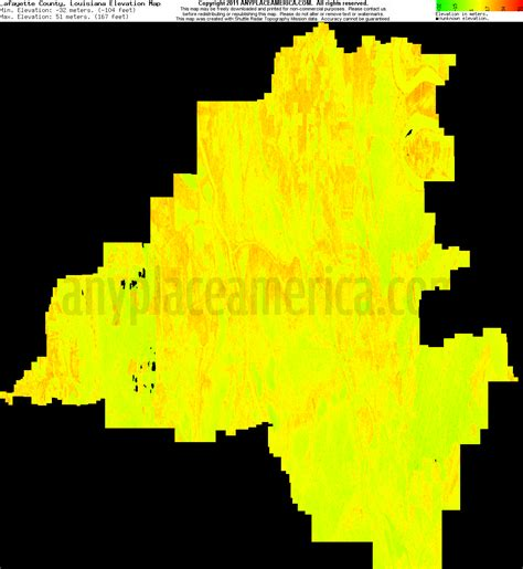south louisiana elevation map free lafayette parish louisiana topo maps elevations