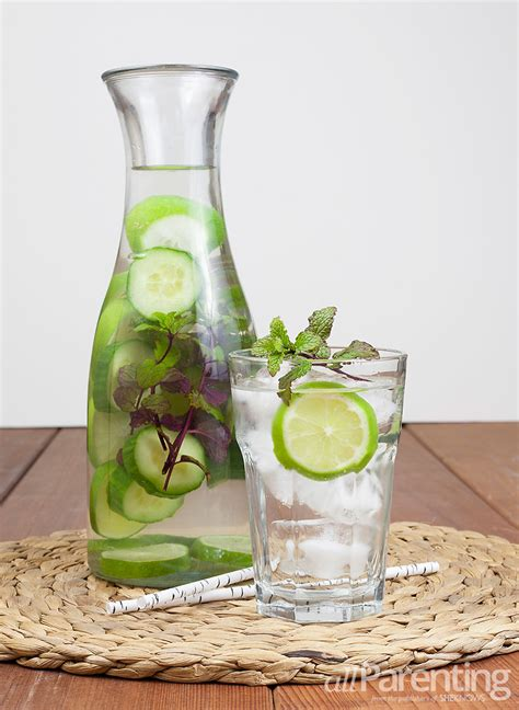 Orange Lemon Lime Cucumber Mint Detox Water by 3 Infused Water Recipes