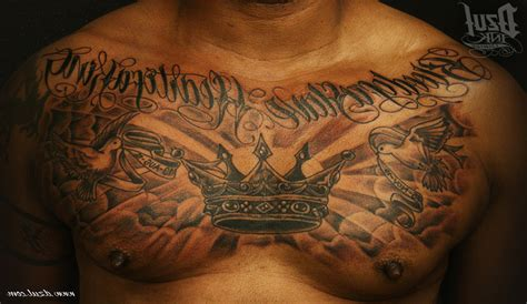 black men tattoos best chest tattoos for black www pixshark