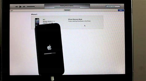 how to restore iphone 5 forgot password factory reset step by step