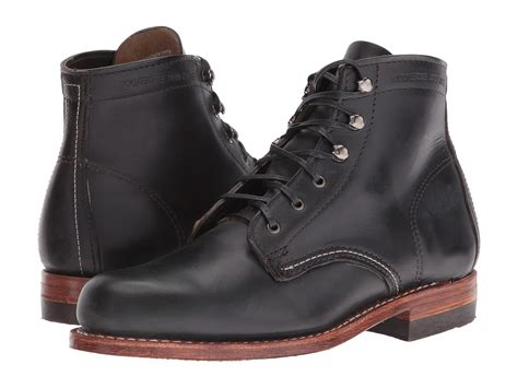 1000 mile boots wolverine original 1000 mile boot in black lyst