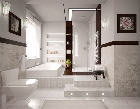 traditional white bathrooms traditional white master bathroom with glass pendant