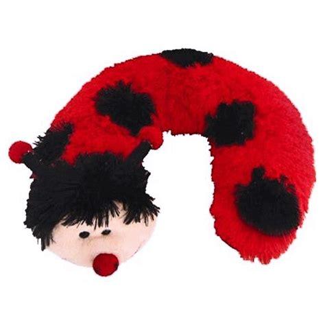 catbug pillow pet bugsnbees gt ladybug gifts gt plush ladybug neck pillow