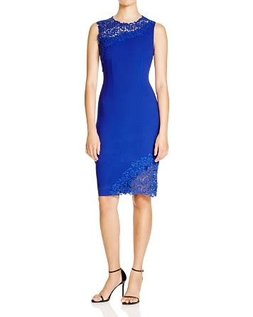 Emory Lace elie tahari emory lace trim sheath bloomingdale s