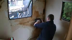 how to repair a caravan water leak damage part 3