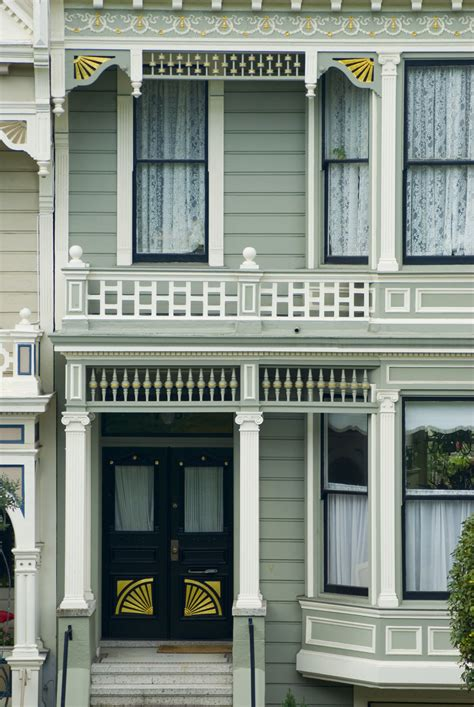 stock photo  architectural historic house front