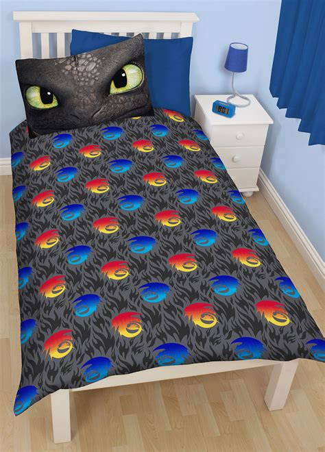 how to train your dragon bedding how to train your dragon toothless single duvet quilt