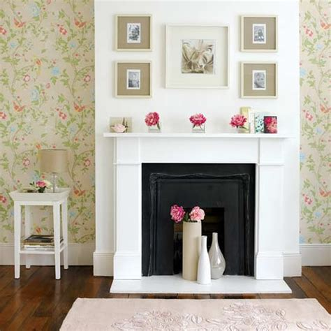 fireplace ideas no fire how to decorate the fireplace mantel house to home blog