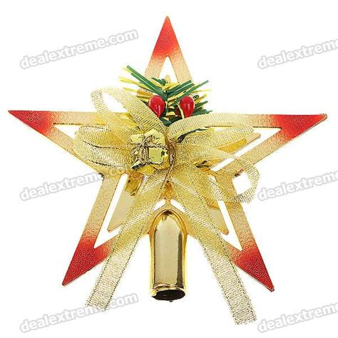 nothing says merry christmas like a pentagram tree topper