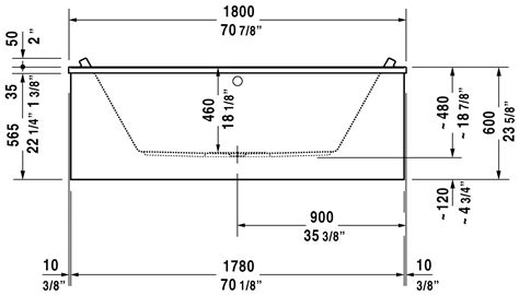bathtub dimensions inches bathtub dimensions feet images
