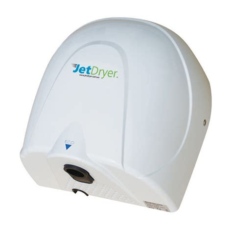 bathroom hand dryer jetdryer white eco bathroom hand dryer bunnings warehouse