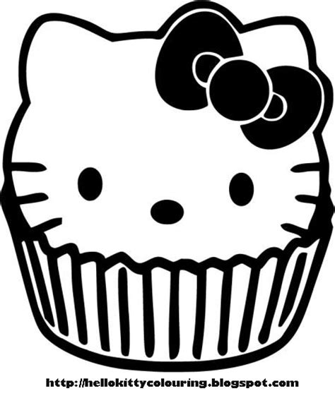 hello kitty baking coloring pages hello kitty coloring pages
