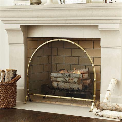 fireplace screen fireplace screen ballard designs