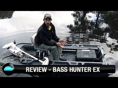 bass hunter ex boat video reviews bass hunter ex we flick fishing videos youtube