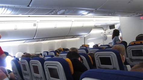 Lufthansa 747 8 Cabin by Lufthansa 747 8 D Abyk Economy Cabin