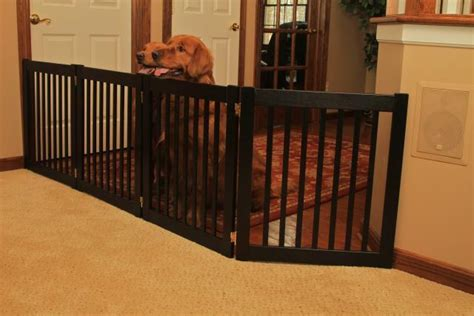 large dog gates for house indoor dog gates pet gates for the house extra wide pet gate home design idea