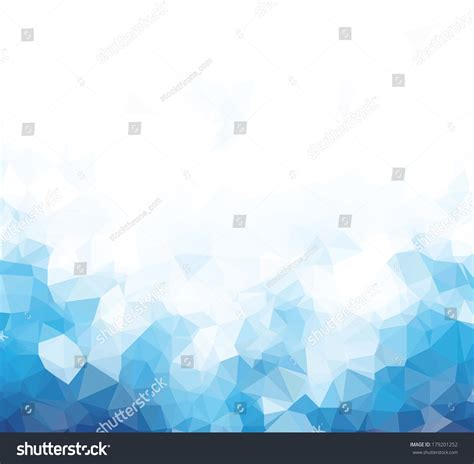 blue triangle pattern vector background background abstract triangle geometry pattern blue stock