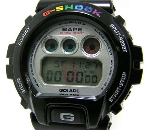 Gshock Dw 6900cl bape x casio g shock dw 6900 freshness mag
