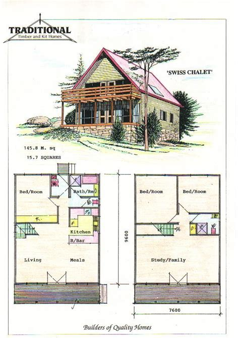 chalet plans 40 best houses bldgs images on