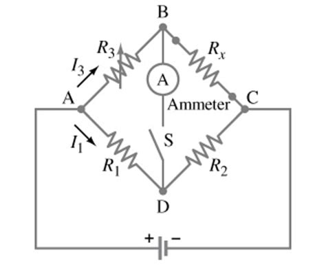 wheatstone bridge unknown resistor a wheatstone bridge is a type of quot bridge circuit quot chegg