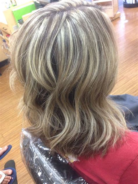weave with grey highlights heavy weave blonde highlights my work pinterest grey