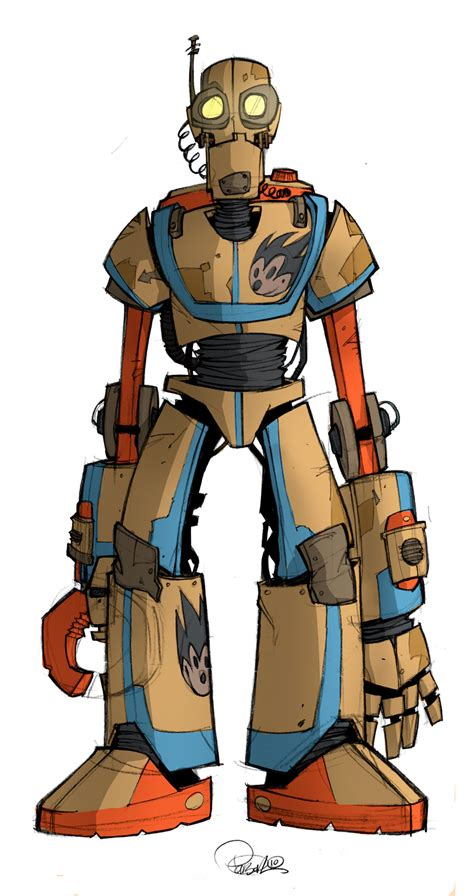 Robot Universe Warrior Biru 3301 06 robot character design by blitzcadet on deviantart