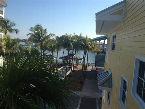 View From Our Bedroom Balcony Into Snug Harbor Picture Harbor House Fort Myers
