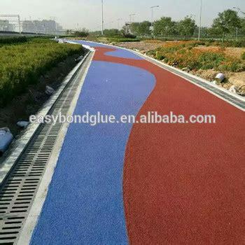 colored asphalt colored pavement colored asphalt overlay road