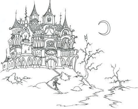 halloween coloring pages for adults only coloring pages
