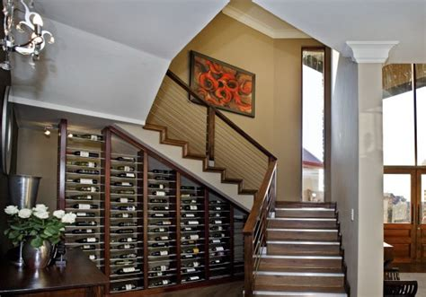 wine storage under stairs 60 under stairs storage ideas for small spaces making your