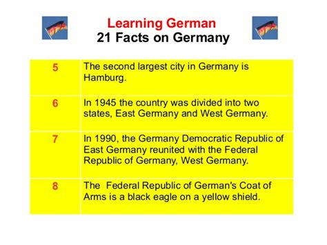 8 Facts On by 21 Interesting Germany Facts