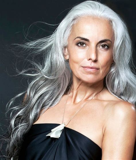 long hair 60 age model you simply can t guess the age of beautiful model yasmina