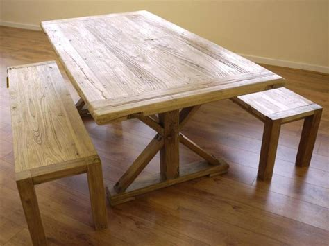 oak table and benches oak farmhouse table and two benches by cambrewood notonthehighstreet com