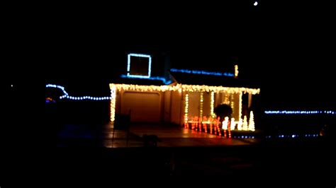 First 2016 Christmas Light Show Short Mr Christmas Outdoor Lights And Sounds Of