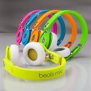 colorful beats make it pop with beats by dr dre neon headphones