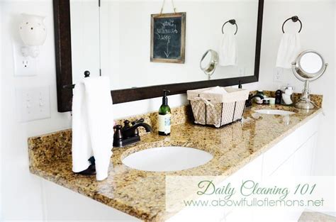 Clean Bathroom Everyday Daily Cleaning 101 Tips On How To Keep Your Bathroom