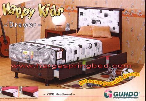 Kasur Sorong Merk Guhdo toko furniture simpati bed 2 in 1 kasur sorong