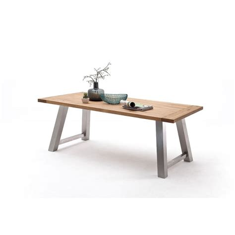 Solid Wood Dining Table Uk Alma A Solid Wood Dining Table Dining Tables Home Furniture