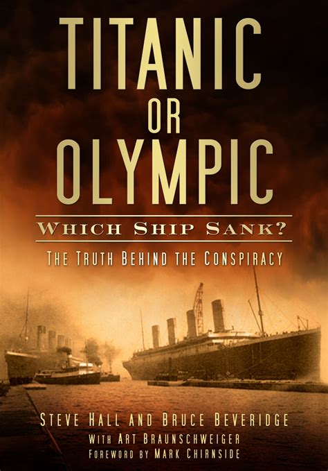 Did Olympic Sink by Titanic Facts April 2012