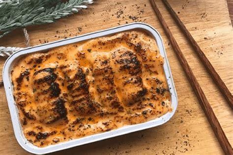 resep salmon mentai nikmat  menggugah selera parents