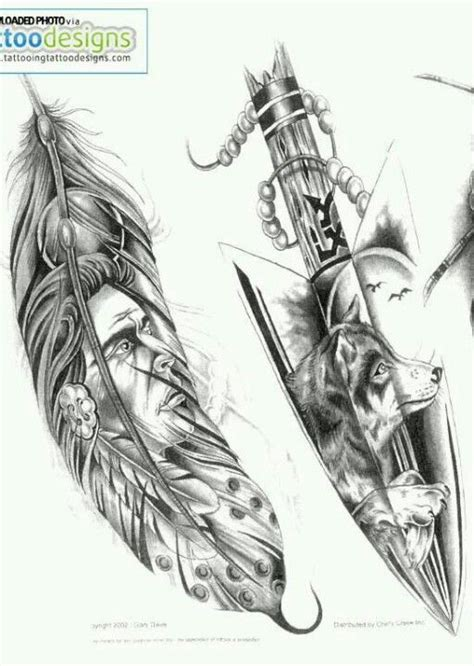 indian arrow tattoo designs indian designs the wolfe one