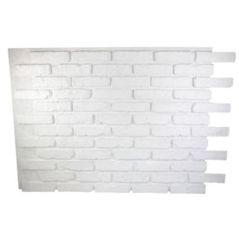 faux brick wall panels lightweight and easy instal