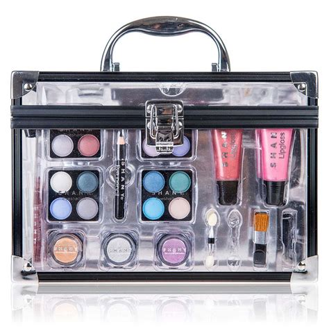 Make Up Kit Sariayu carry all trunk makeup cosmetic gift set shany cosmetics